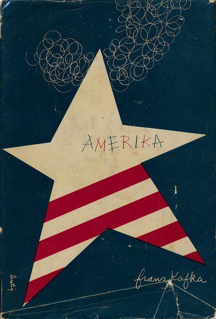 Amerika by Franz Kafka. Designed by Alvin Lustig. 1946.