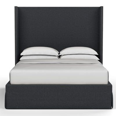 Corrigan Studio Dubbo Box Upholstered Standard Bed | Wayfair.ca