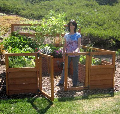 Vegetable Garden Plans Designs on By Lisa Singer Inventor ...