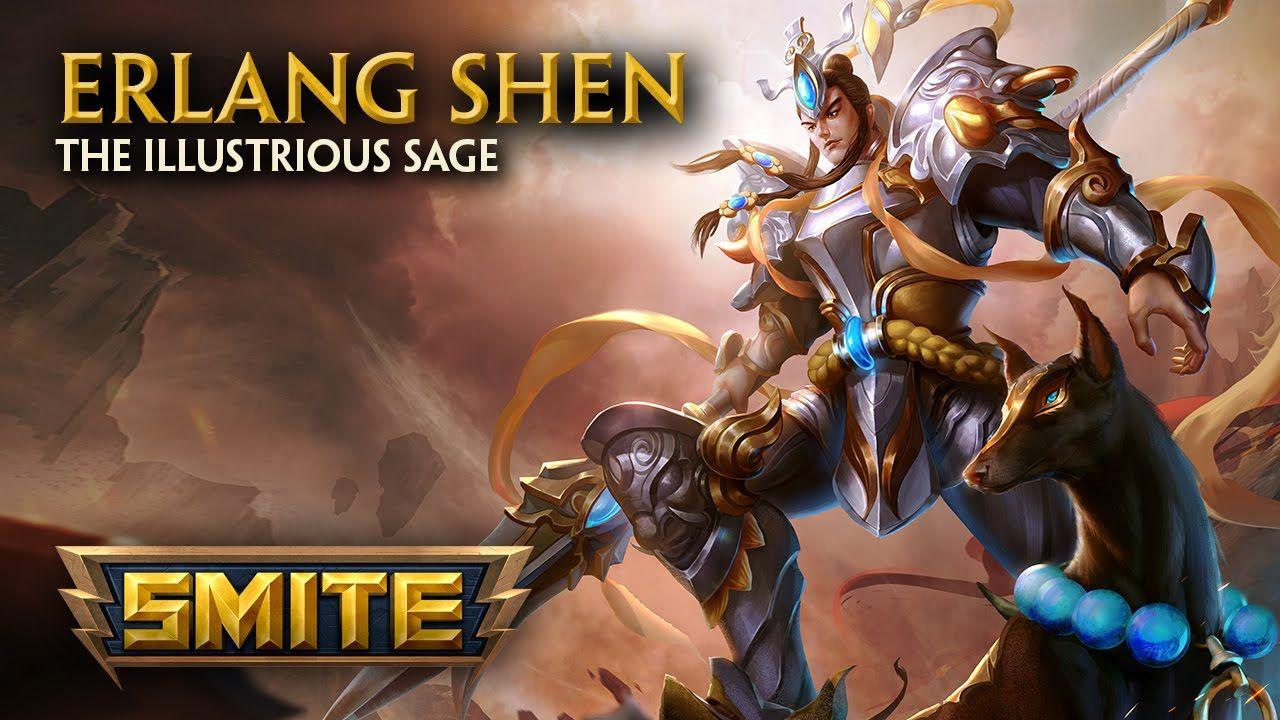 SMITE - God Reveal - Erlang Shen, the Illustrious Sage - YouTube