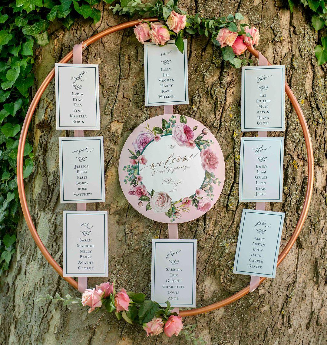 Photo of Wedding Hoops – 30 kreative Hochzeitsdeko-Ideen – Hochzeitskiste
