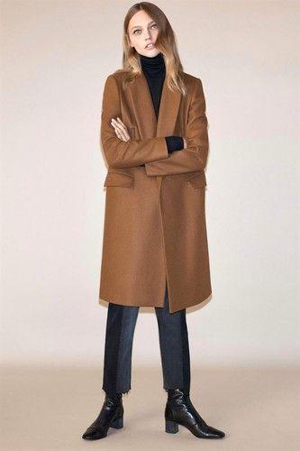 Zara - Coleção de casacos compridos mulher