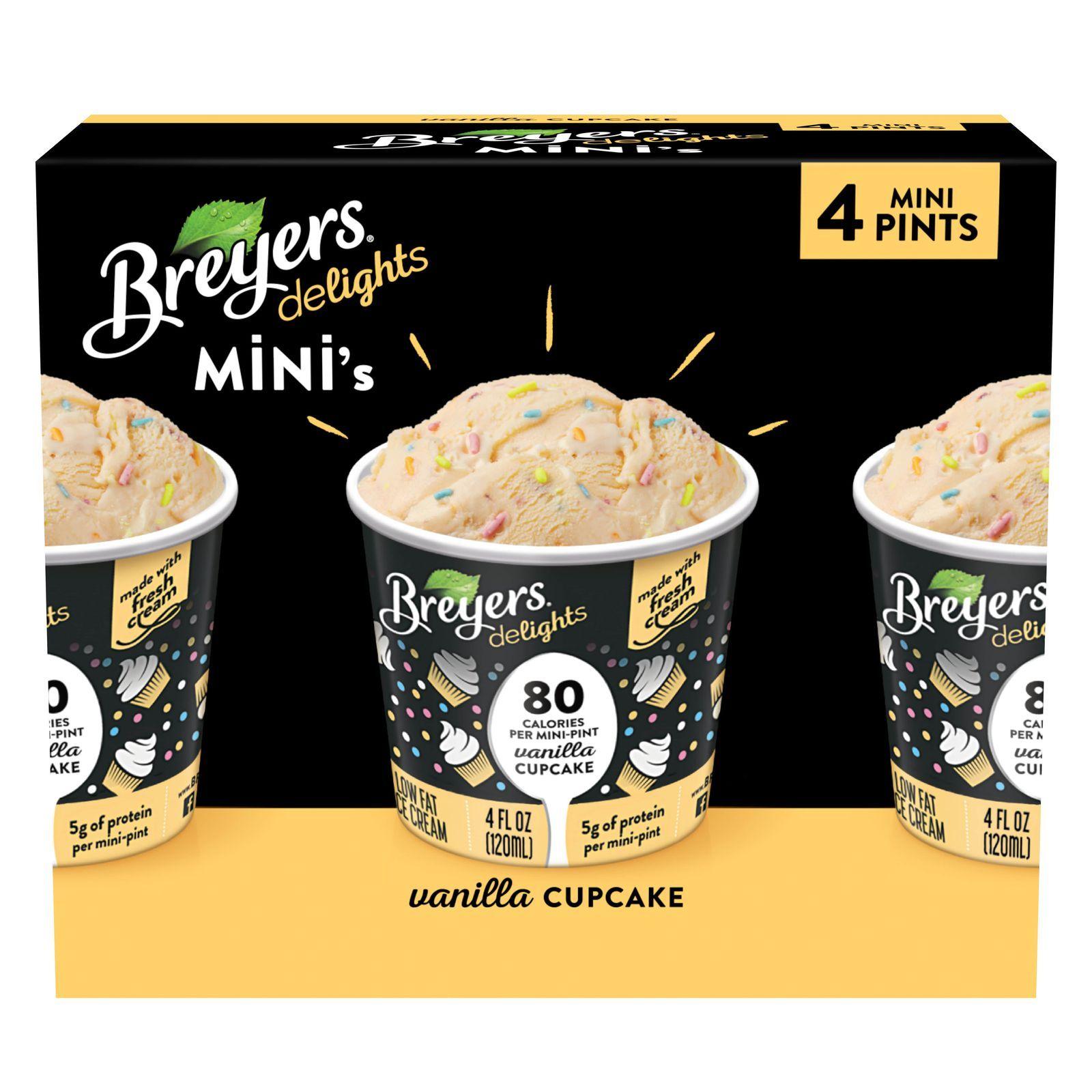 Breyers Now Sells 80 Calorie Mini Tubs Of Ice Cream That Taste