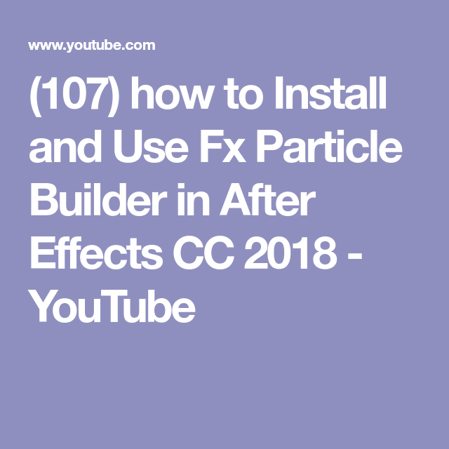 fx particle builder purchase code free download