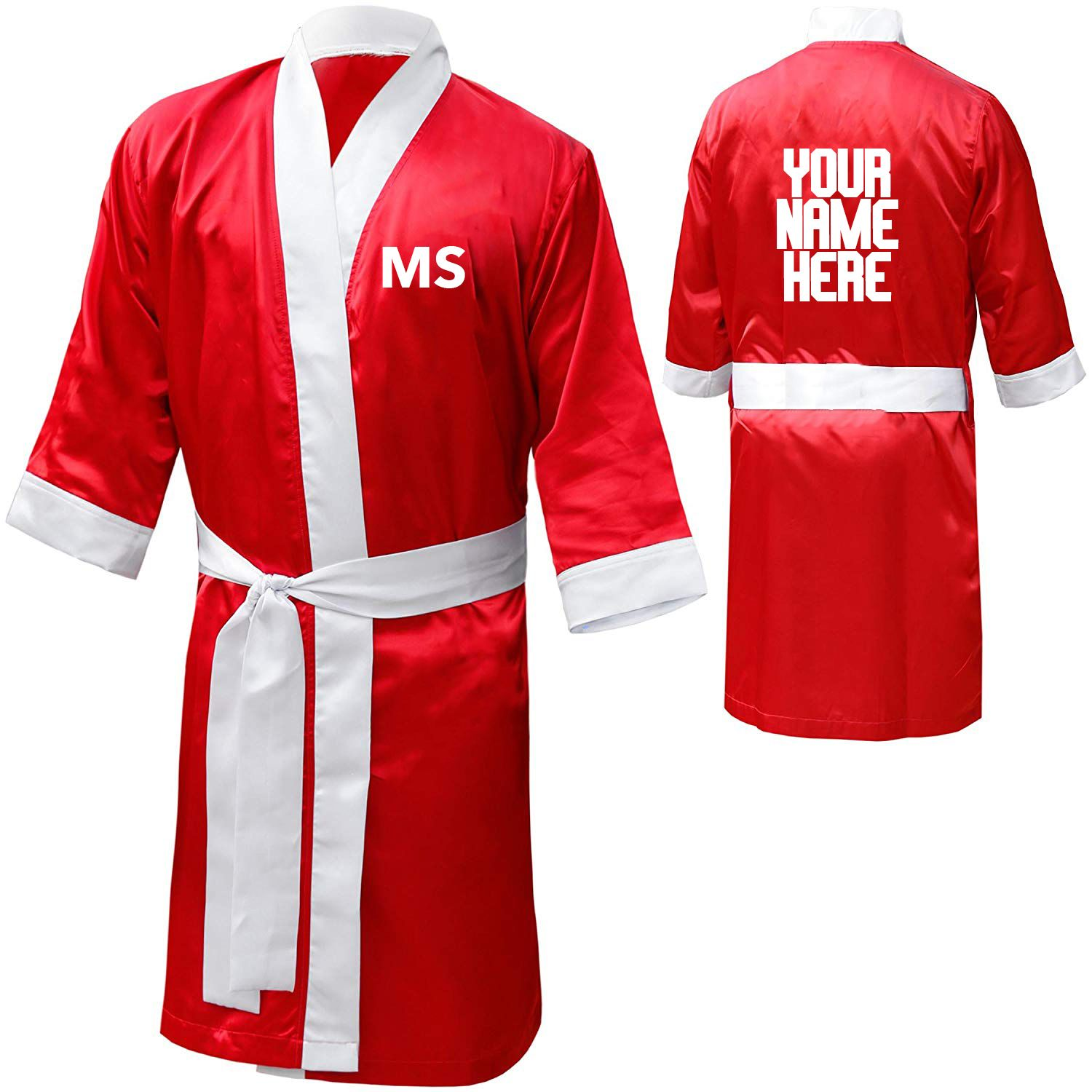 Personalised Boxing Robes: Personalised Boxing Robe Gown In 2020