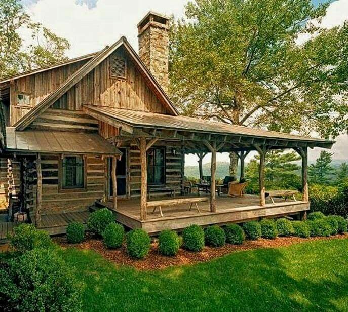 Pin By Arleens Dreams On Country Style Small Log Cabin Rustic Cabin Rustic House