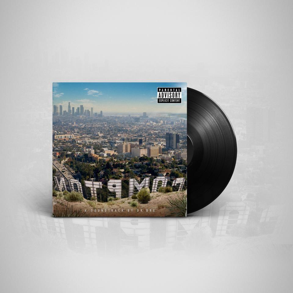 Compton Vinyl Cajas Empaques