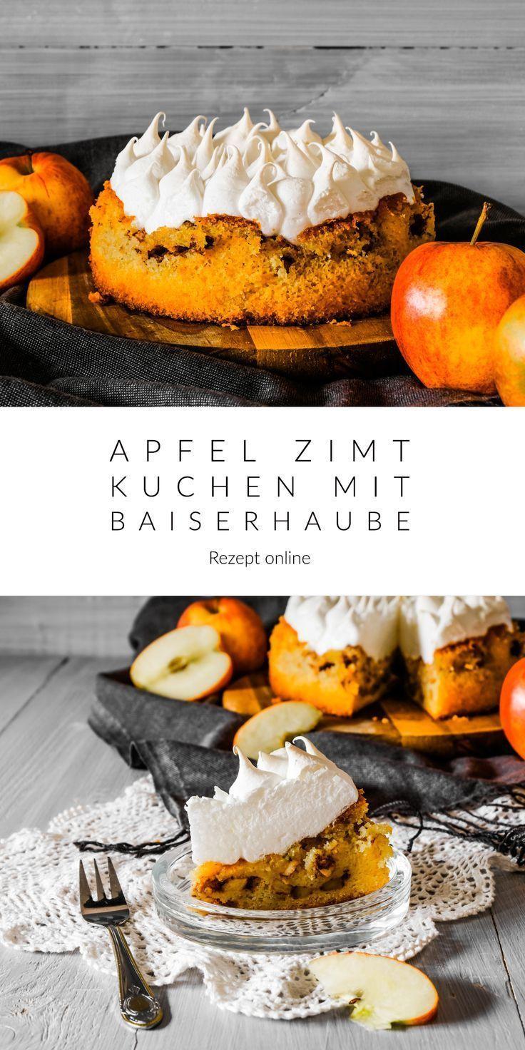 Apfel Zimt Kuchen Mit Baiserhaube Rezept Will Ich Mal Backen