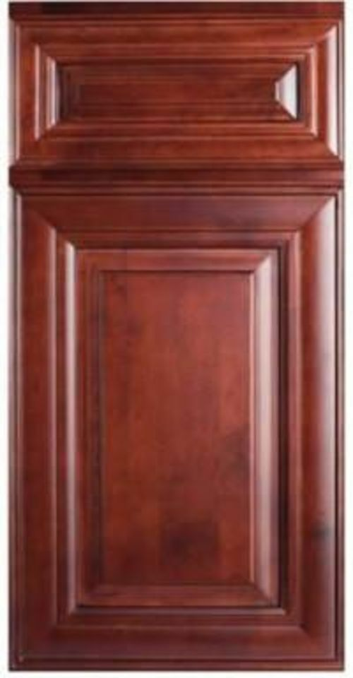 Details About 10 39 X 10 39 Kitchen Cabinets Mahogany Maple