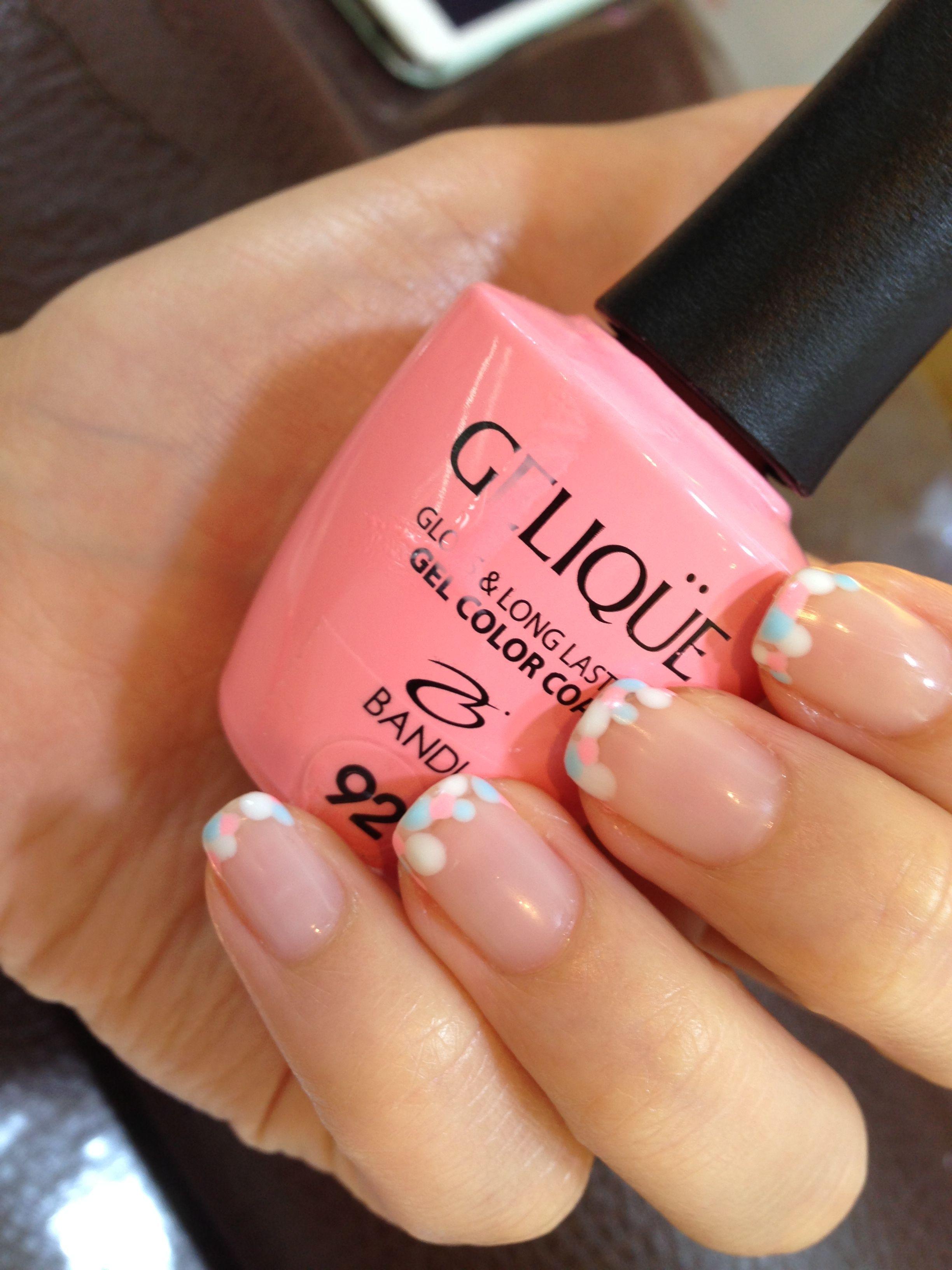 Gel Dot French Nail