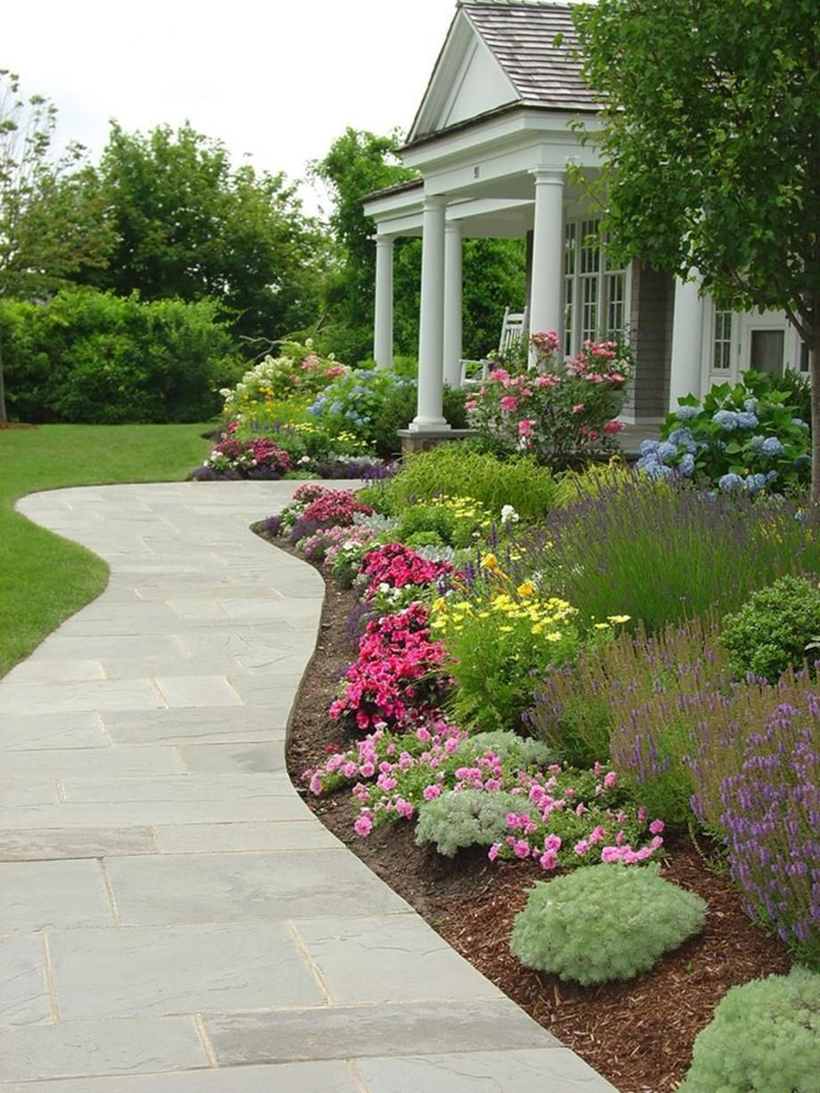 Front Walkway Landscaping Ideas 25 House Landscape Front