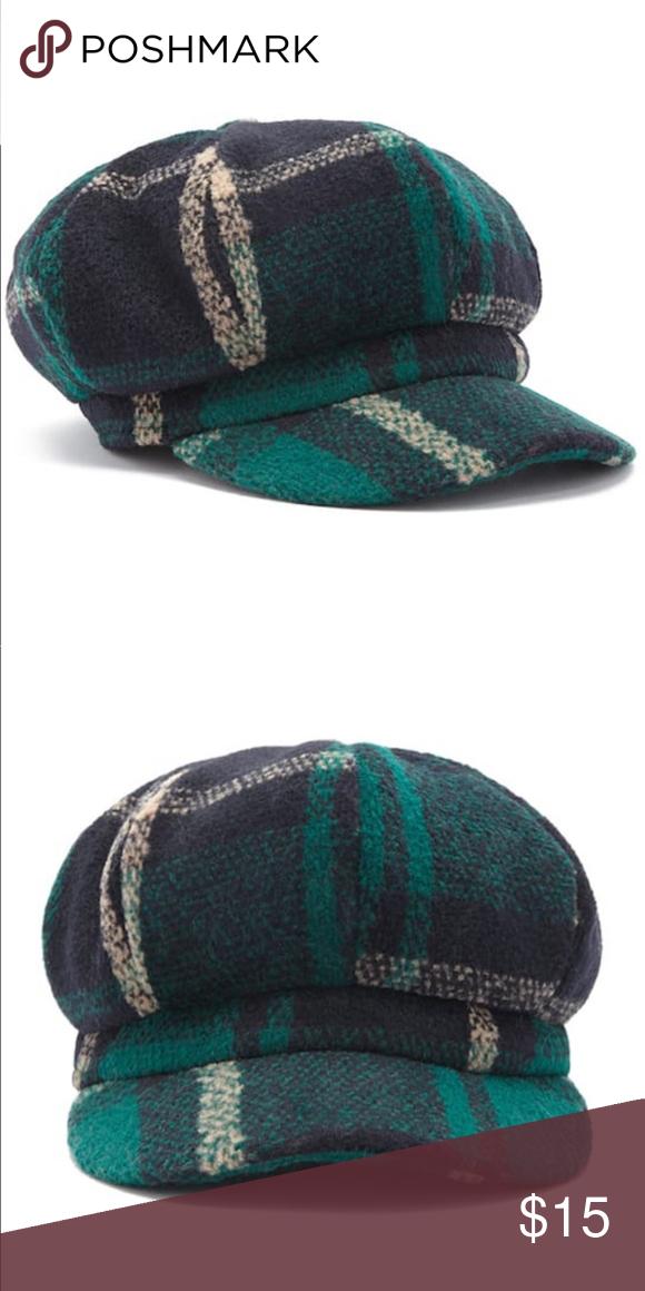c81b46492ef9d F21 Plaid Cabby Hat Brand new