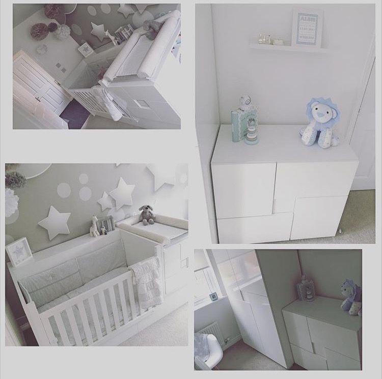 Preciosa habitación infantil con los muebles de la colección CLIP en ...
