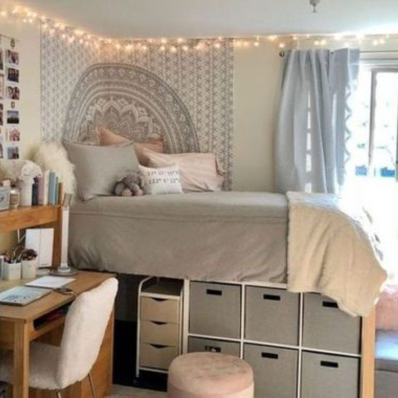 57 The Best Dorm Room Decorating Ideas On A Budget Dorm Room