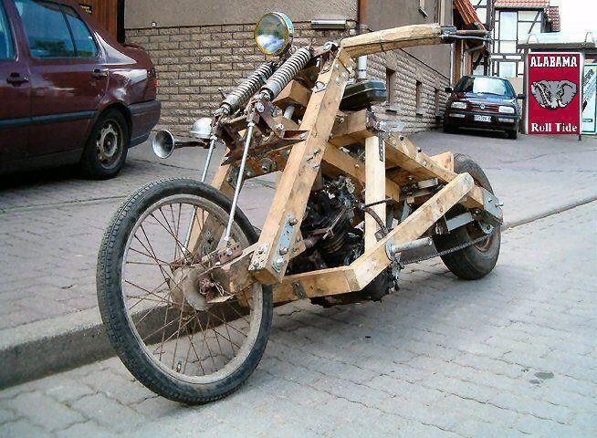 Homemade Chopper (too funny!)