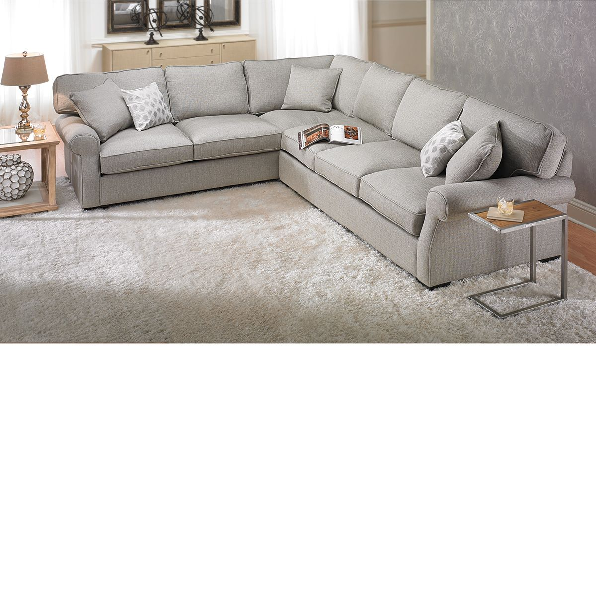 Complete Feather Down Sectional