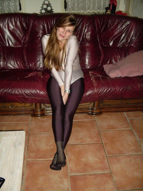 pantyhose and trousers