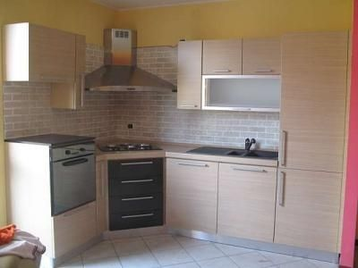 Piano cottura in linea angolare piani cottura pinterest piano tutto cucina angolare piccola - Cucina angolare piccola ...