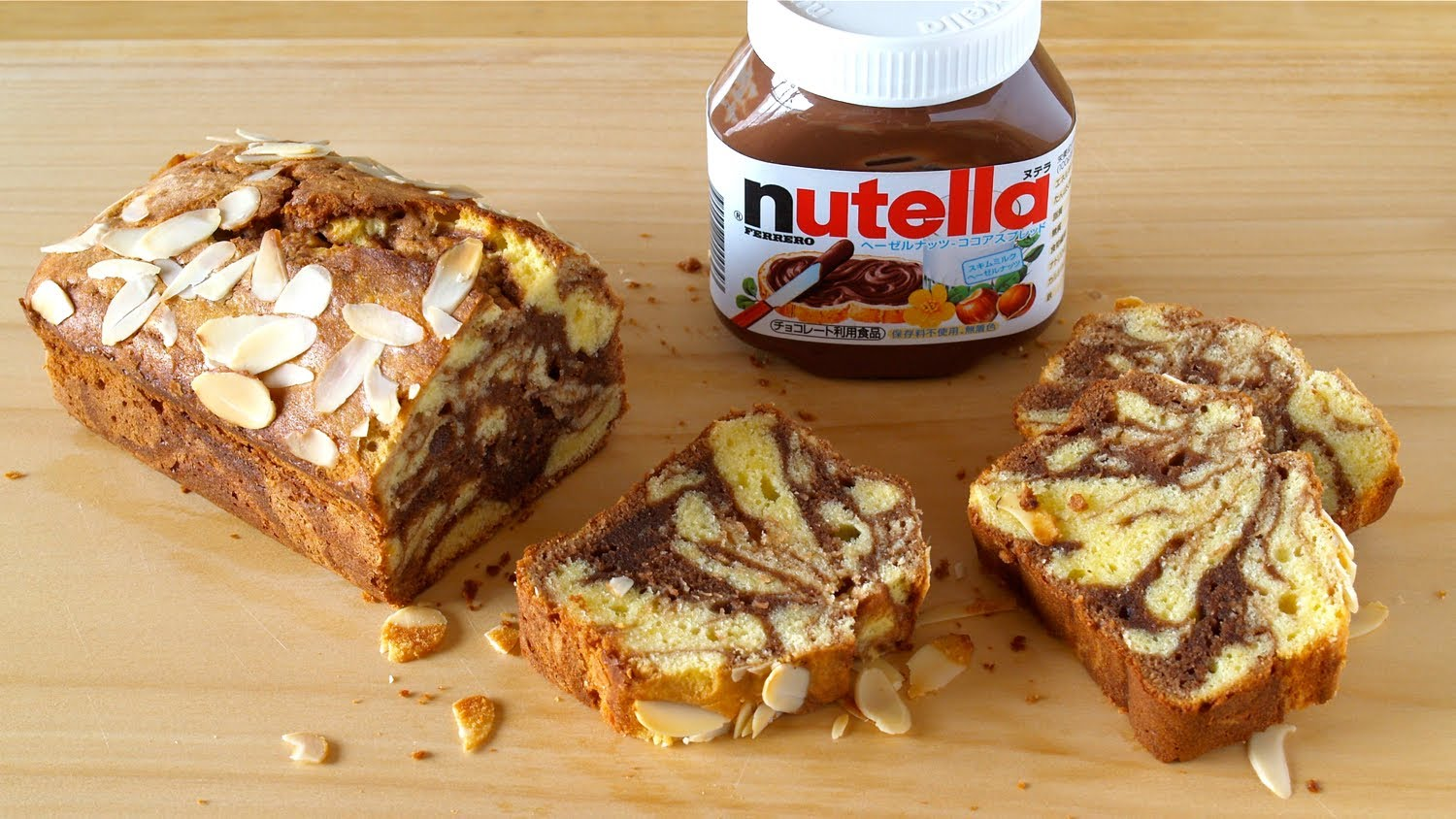 How To Make Nutella Swirl Cream Cheese Pound Cake Marble Chocolate