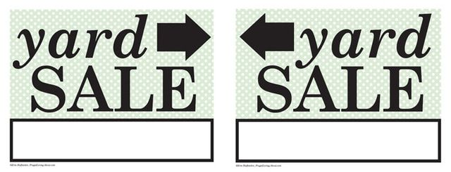 27 free printable recipe card sets yard sale signs pinterest