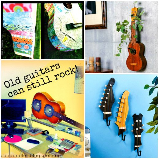 Re Fab Diaries: Re purpose: Old Guitars can still Rock!