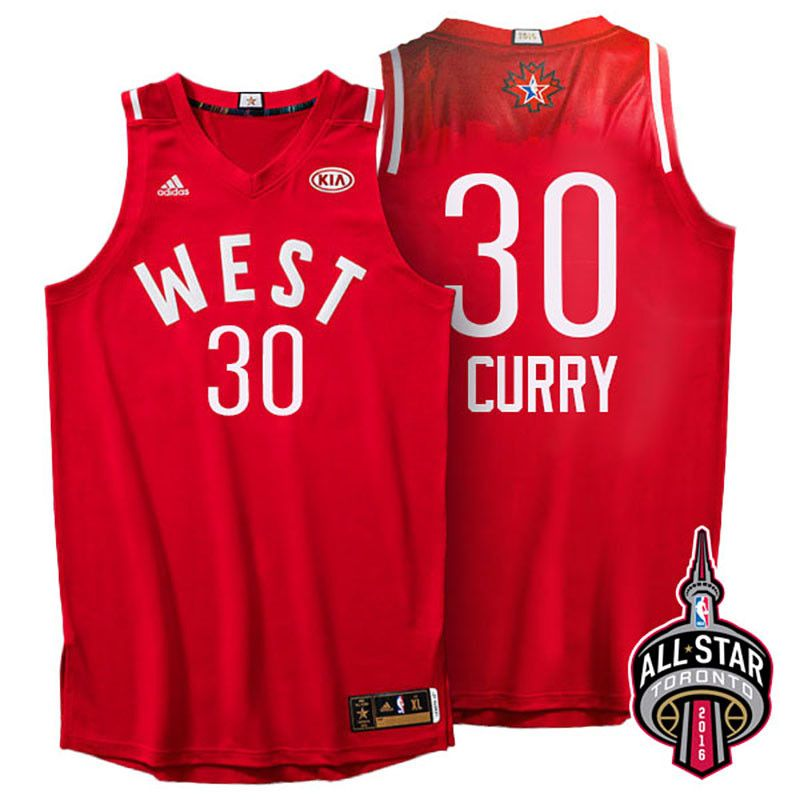 8582e406f86 2016 Toronto NBA All-Star Western Conference Golden State Warriors Stephen  Curry