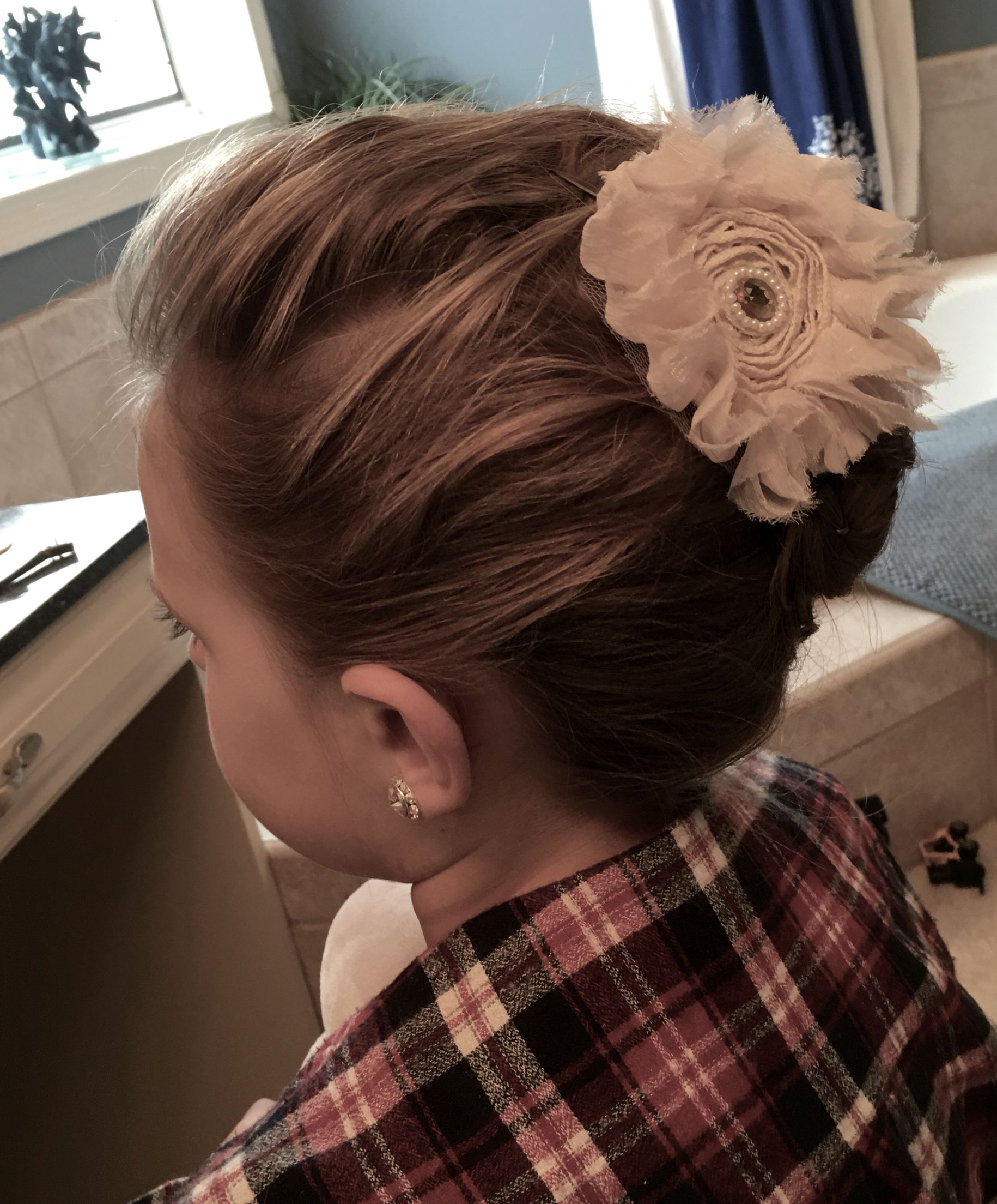 Country Chic French Twist