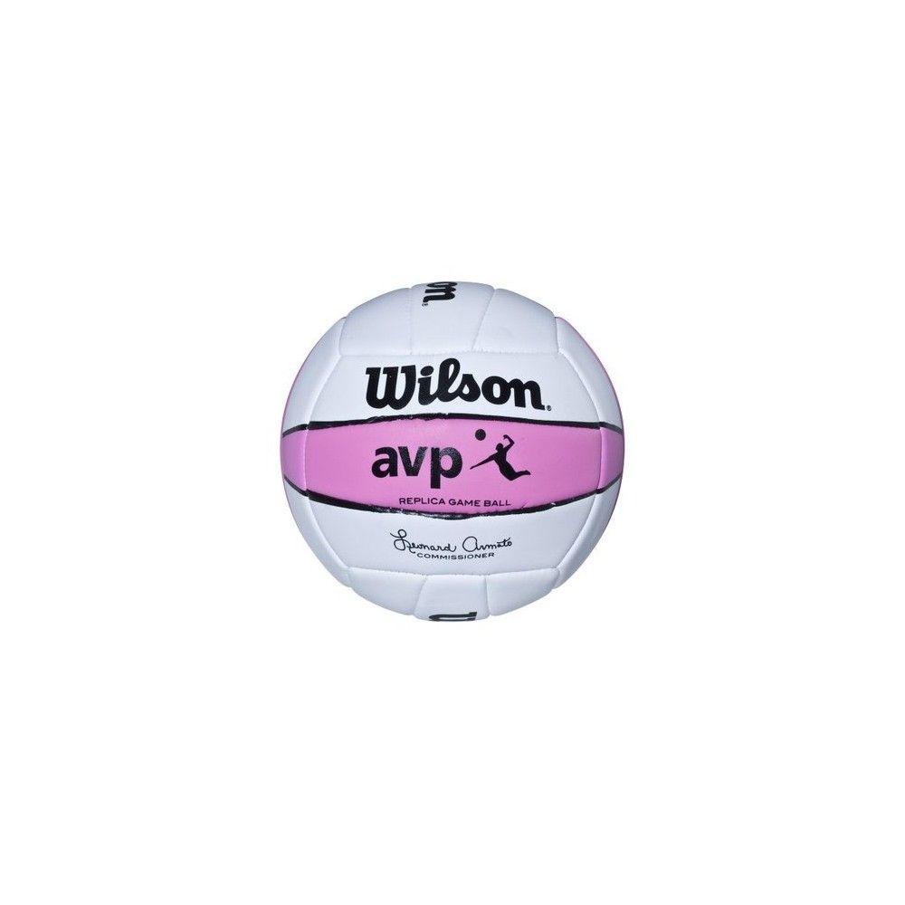 Wilson Avp Replica Beach Game Volleyball Pink White Volleyball Fun Sports Wilson Volleyball