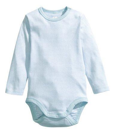 Basic baby boy bodysuit