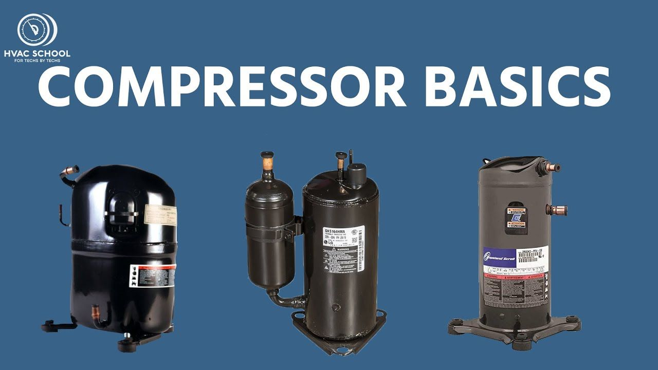 Air Conditioning Compressor Basics YouTube in 2020