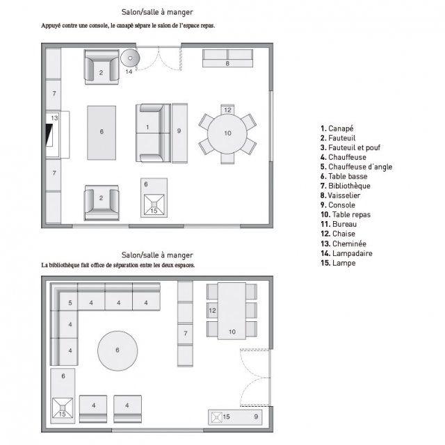 amnager un salon les rgles respecter pour un sans faute - Amenagement Salon Salle A Manger 20m2