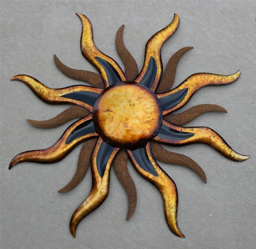 Sun Wall Art Sun Painting Sun Wall Decor Sun Art