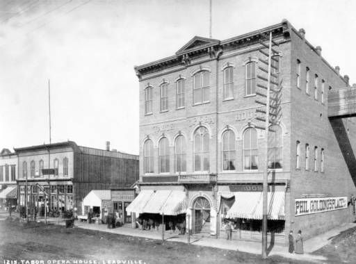 Image result for images of tabor opera house leadville colorado 1881