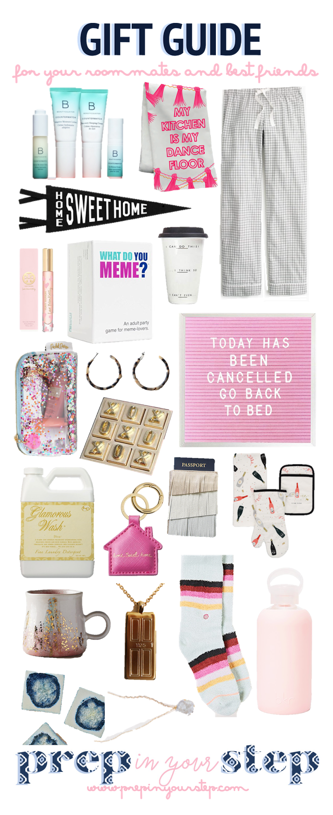 Gift Ideas For Your Roommate Or Best Friends Roommate Gifts Gift Guide Best Friend Gifts