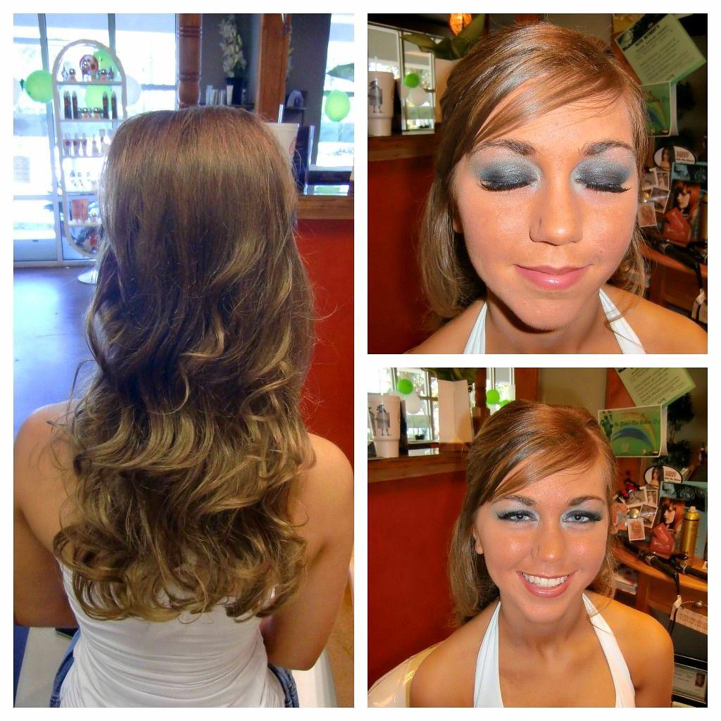 "high school pageant, hair and makeup @leanne mcfadden | ""elite"