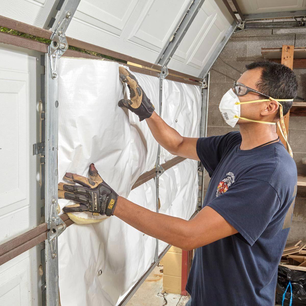 Exactly how to insulate a garage door homerenovationtips