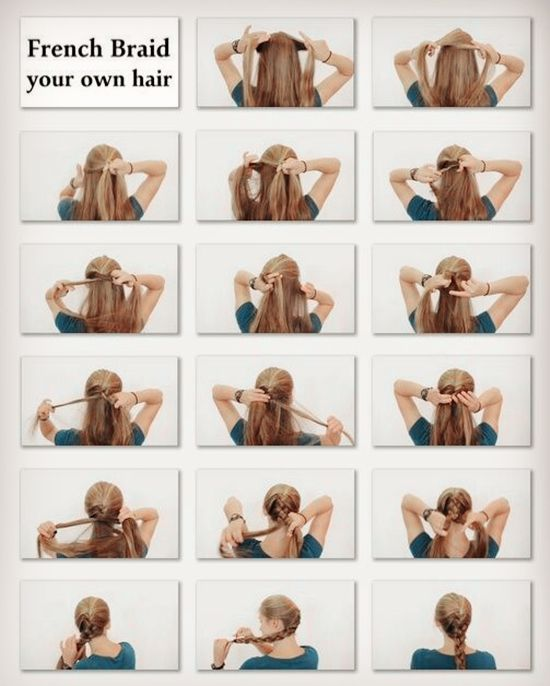 Sensational 1000 Images About French Braids On Pinterest Easy French Braid Short Hairstyles For Black Women Fulllsitofus