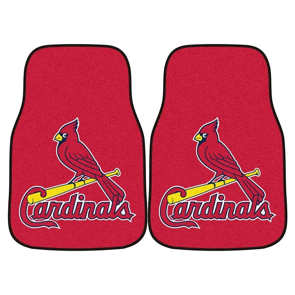 St. Louis Cardinals MLB Car Floor Mats (2 Front)