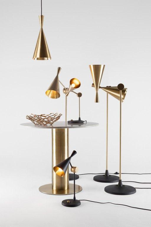 Beat Light Tafellamp Tom Dixon Moderne Lampen Tafellamp Vloerlamp