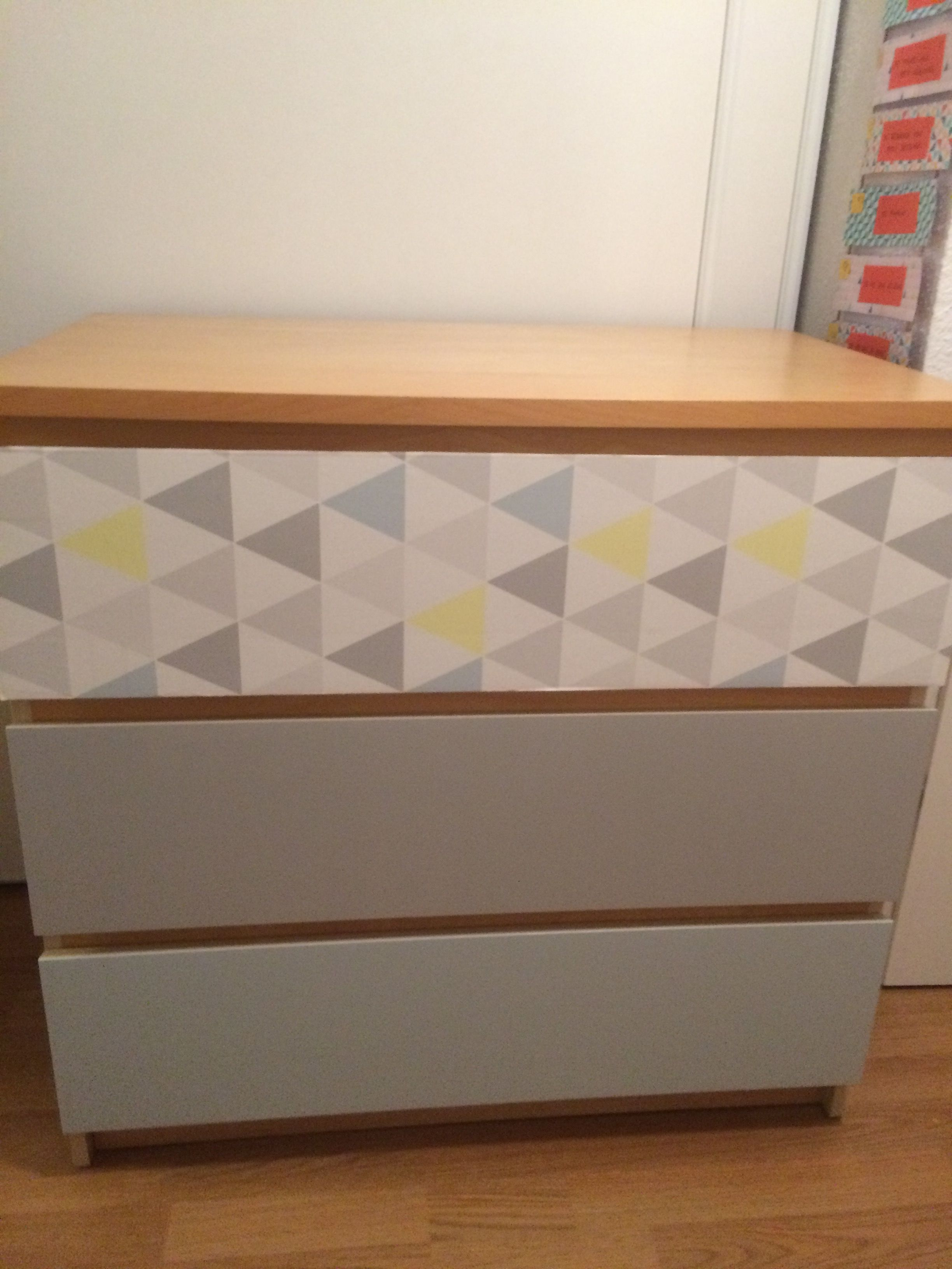 ikea hack - commode malm relooking | design | pinterest