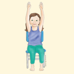 40 kidfriendly chair yoga poses  yoga para niños