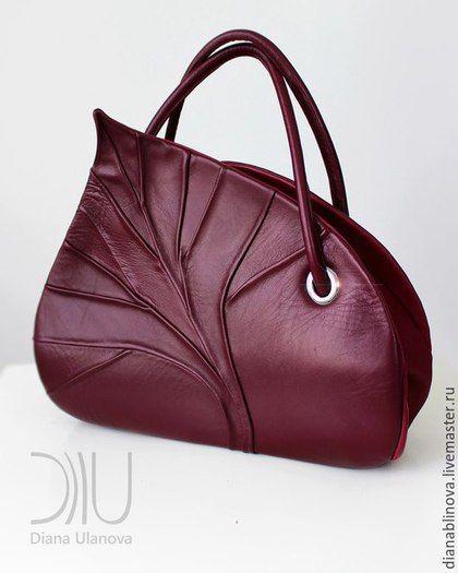 fbf545adab3f Женские сумки ручной работы. Ярмарка Мастеров - ручная работа. Купить Лист  саквояж. Handmade. Красивая сумка, элегантная сумка