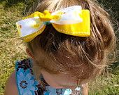 Yellow Rubber Ducky Bow Tie Bow