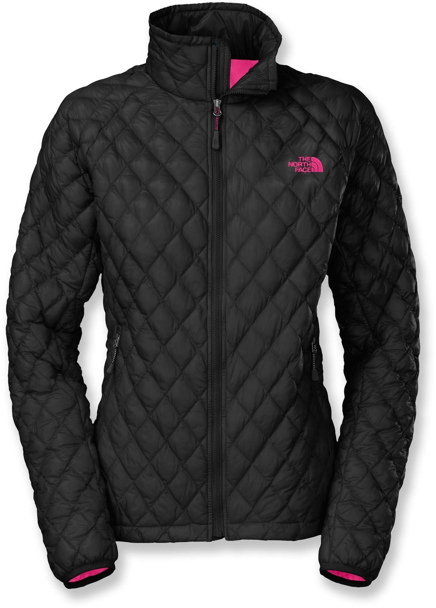 The North Face ThermoBall™ women s jacket puts revolutionary new ThermoBall™  synthetic insulation to work. Cozy and light 5c0599c7a847