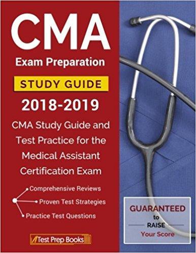 CMA Exam Preparation Study Guide 2018-2019 ISBN-13 978-1628455090
