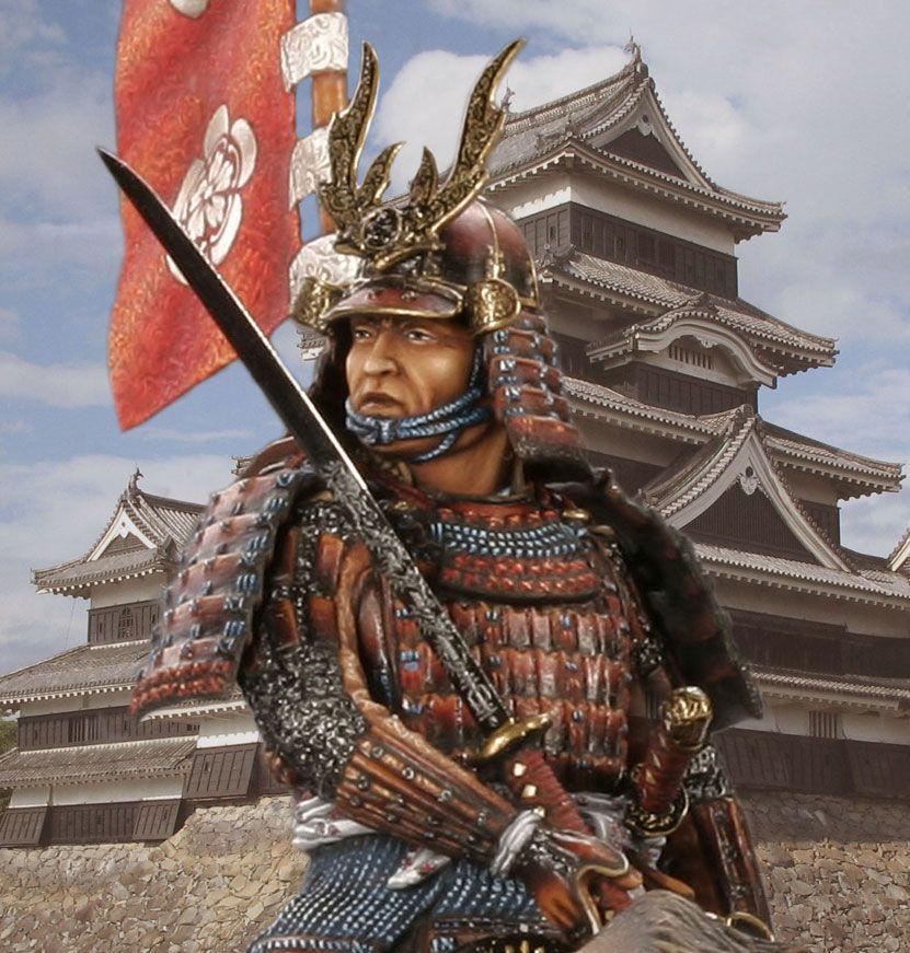 картинка японского самурая многие
