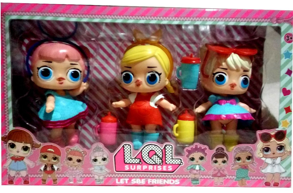 funny fake LQL surprises doll in 1 packs  de087dc91f