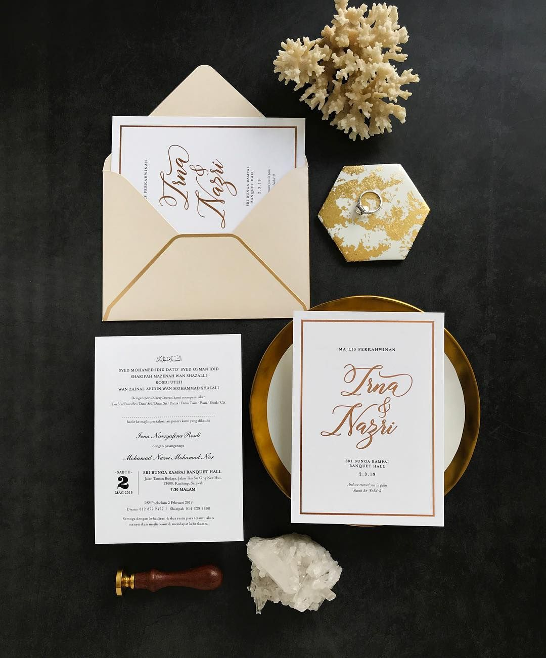Kad Kahwin Wedding Invitations On Instagram Let S Talk About Design Shall We There Are These Assumptions That Kad Kahwin Wedding Card Design Wedding Cards