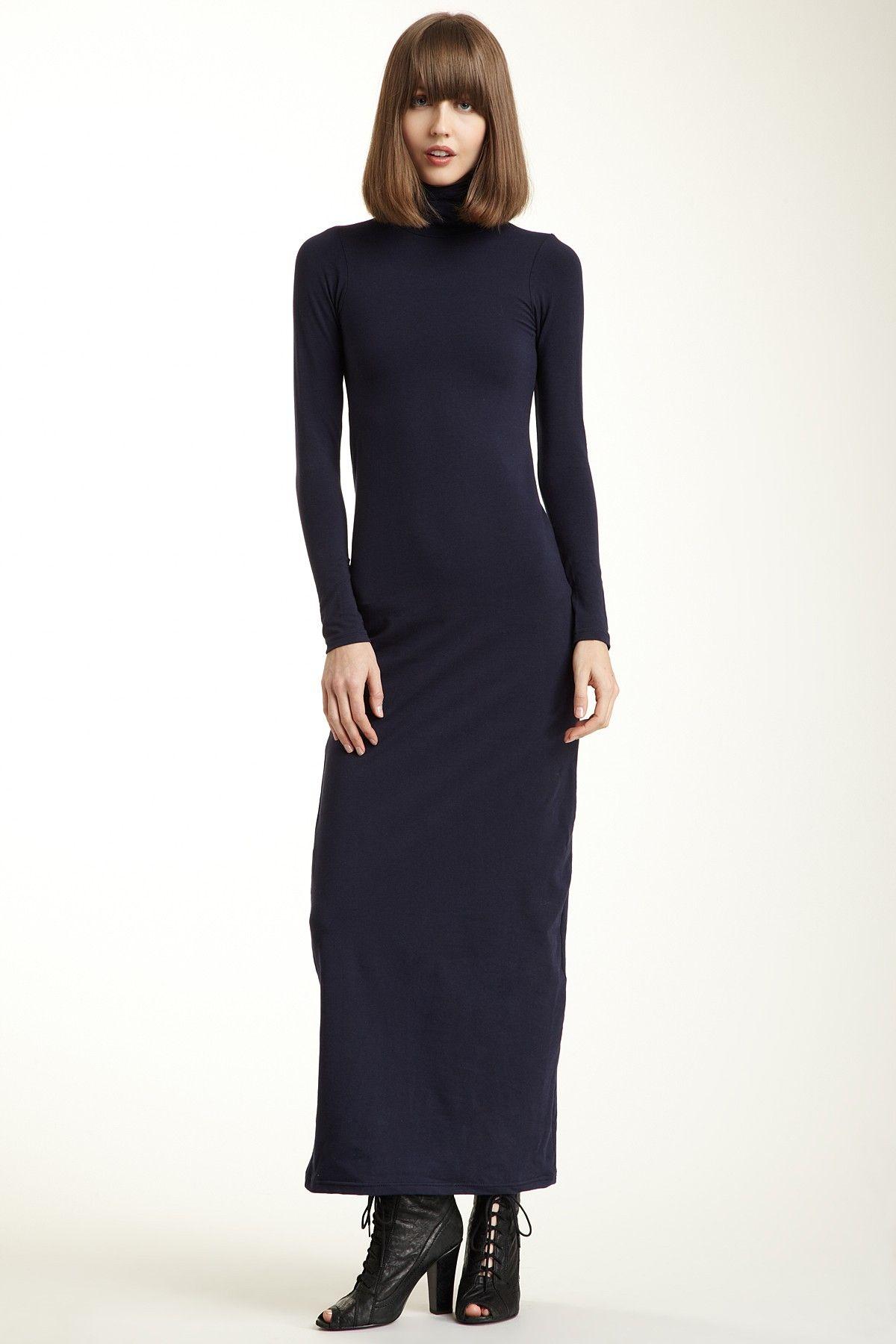 Alternative apparel ruched maxi dress