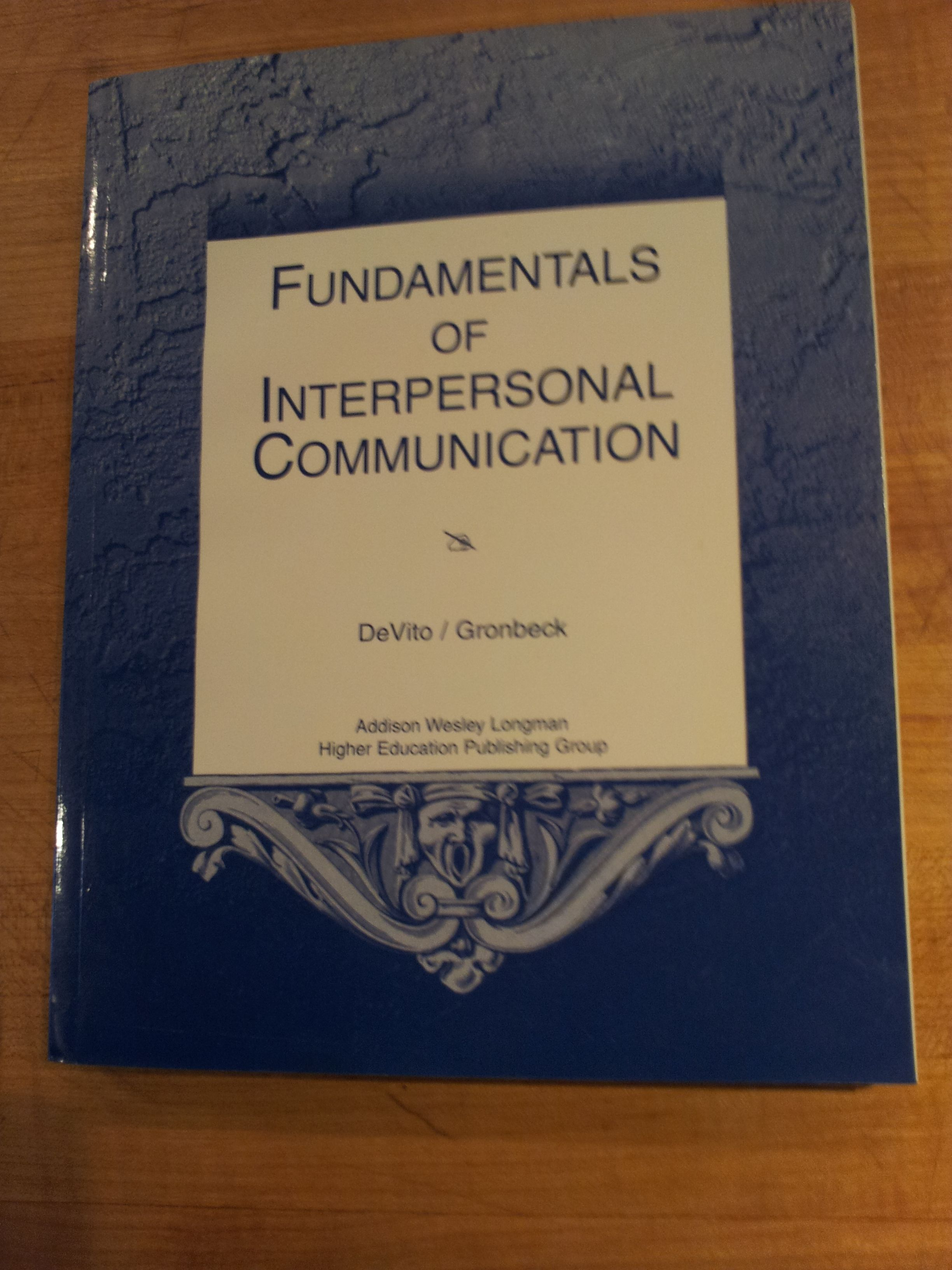 Fundamentals Of Interpersonal Communication